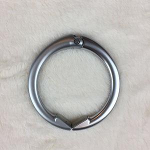 Clipa2 Matte Silver Bag Hanger-versatile+heavyduty
